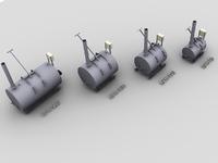 Крематор серии КРН Диз/Газ