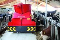 Автоматический самоходный робот кормления
